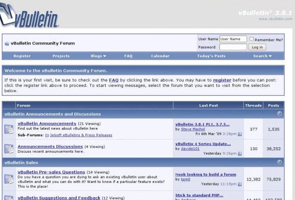 Forum Scripti Indir Vbulletin 3.8.7 Forum Scripti