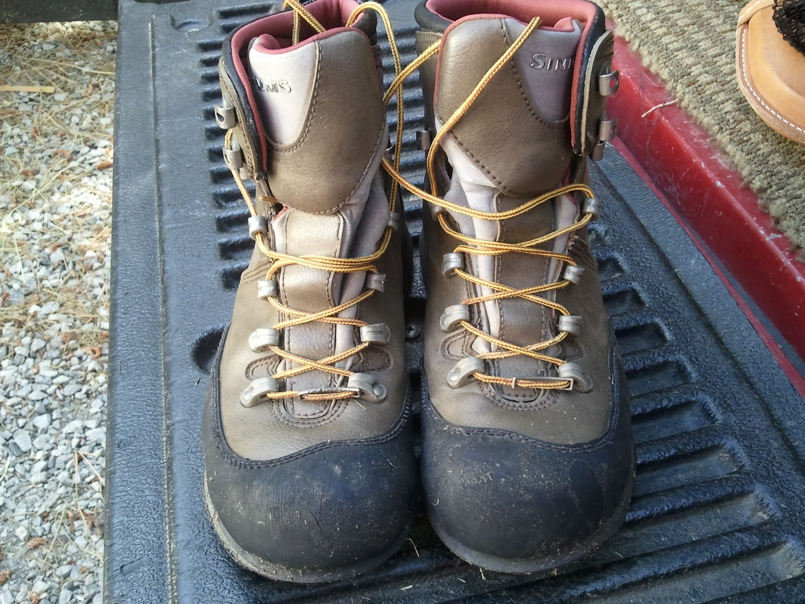 Northern Sierra Fly Fishing Simms Freestone Boot Review