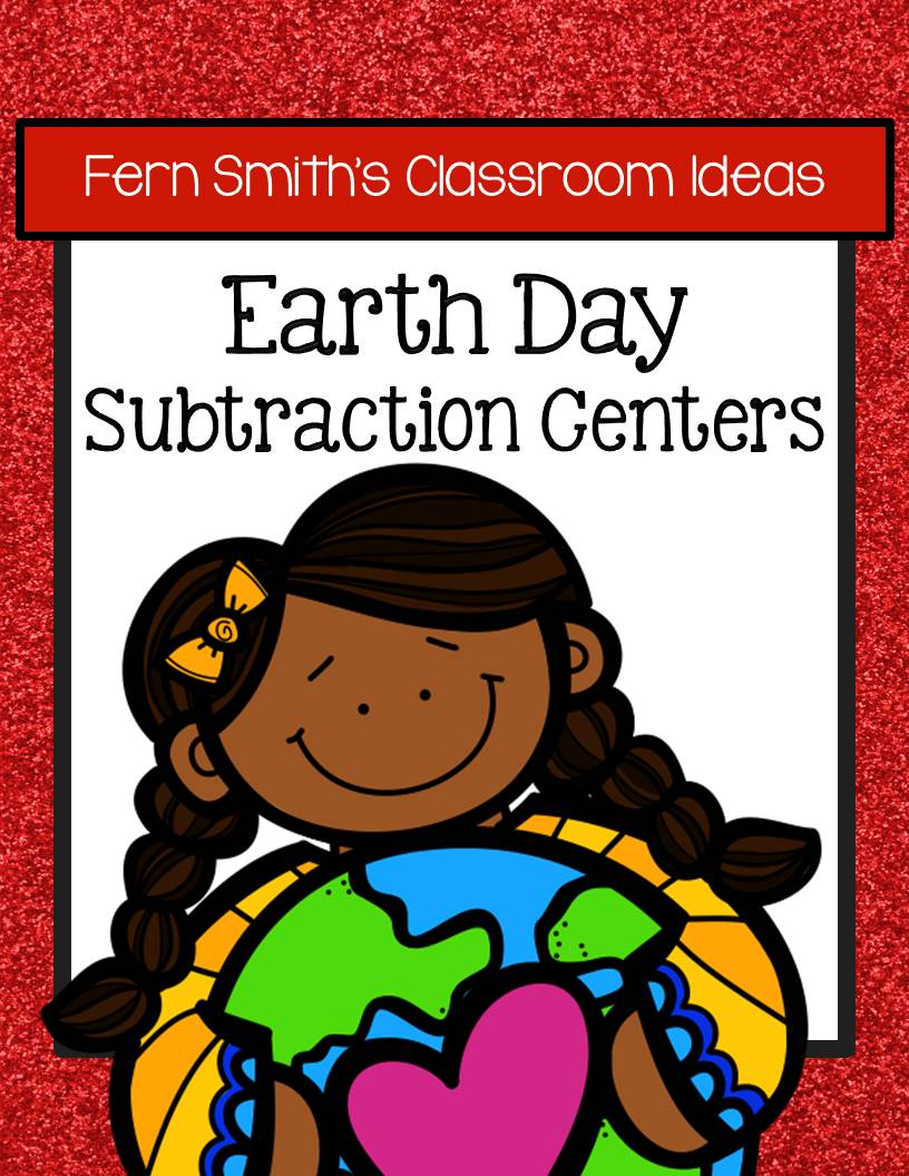 Earth Day - Subtraction Center Games