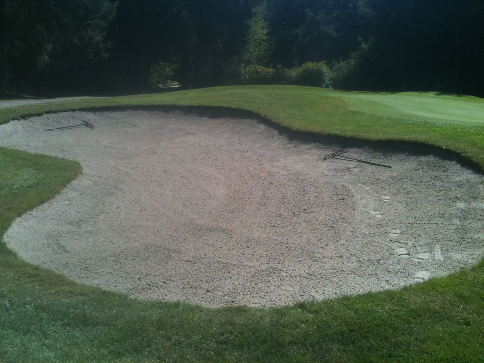 Turf hacker rethinking sand trap maintenance - Wand trap ...