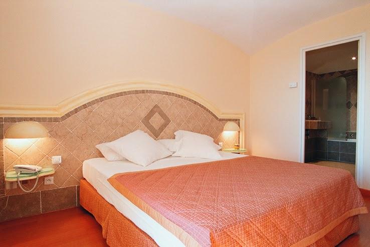 Chambre de l'hôtel Ostella
