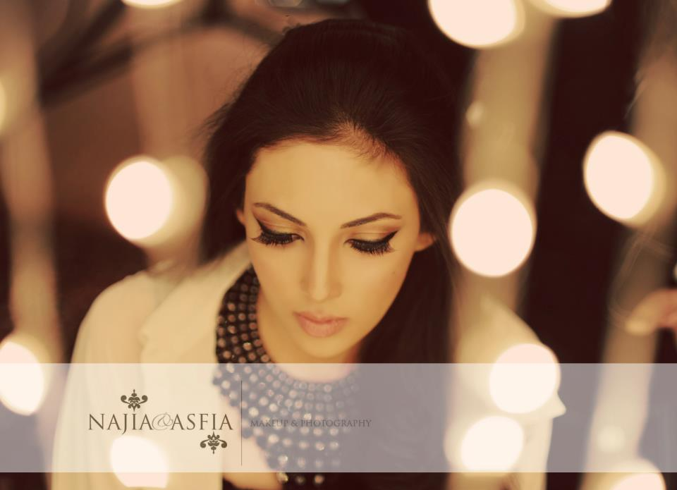 Eastern Female Makeup And Photography By Najia Amp Asfia