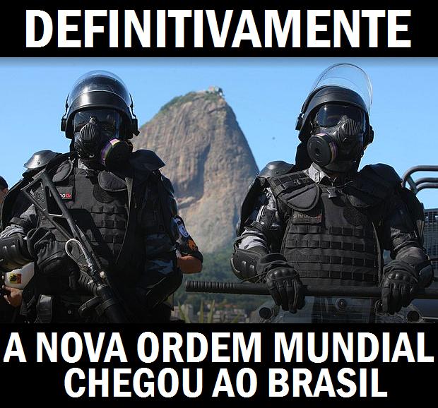 Estado Policial estabelecido: PM escala 'time' de 450 para reforçar pacificação (imposição) na Copa do Mundo