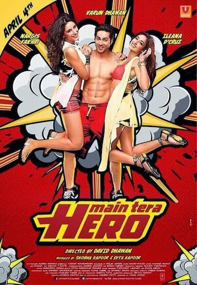 Main Tera Hero (2014) BluRay 720p BRRip 750MB