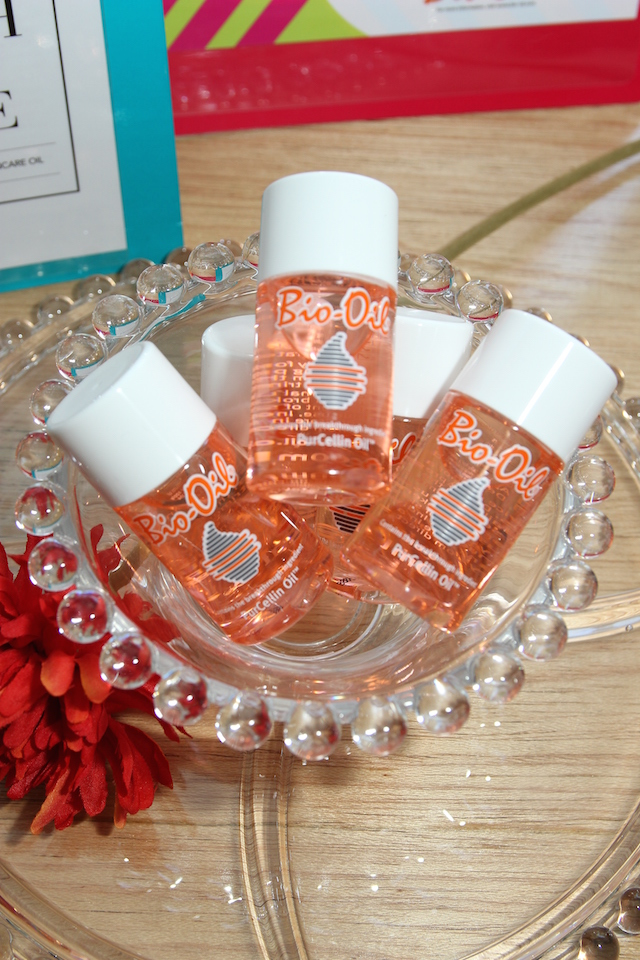A bowl of Bio-Oil