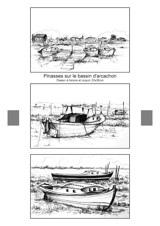Les petits bateaux qui vont sur l'eau