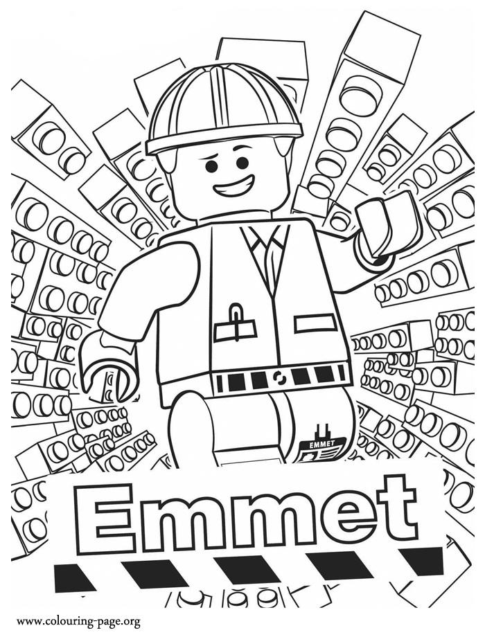 Desenhos para Colorir e Imprimir: Desenhos da Lego para Colorir e ...