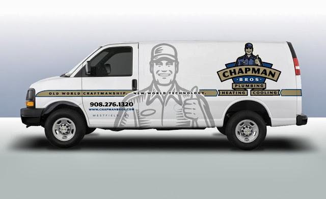 truck wrap for plumbing company, best truck wrap for plumbing company