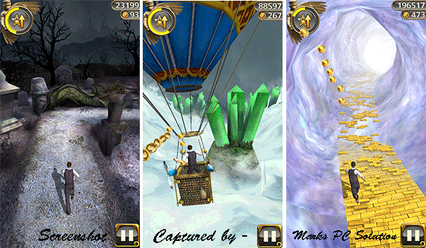 Temple Run Oz Dark Forest & Ballon