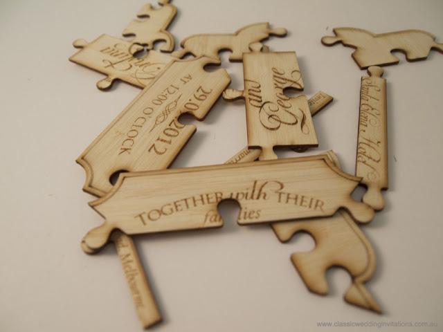 Undangan Pernikahan Puzzle