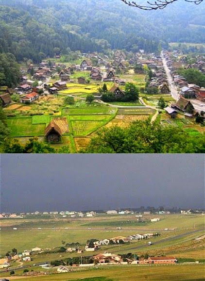 city life and rural life