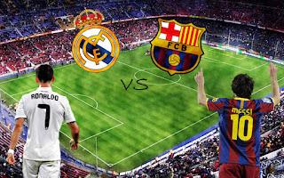 مباراة الكلاسيكو بين ريال مدريد وبرشلونة