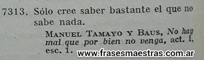 frases de Manuel Tamayo y Baus