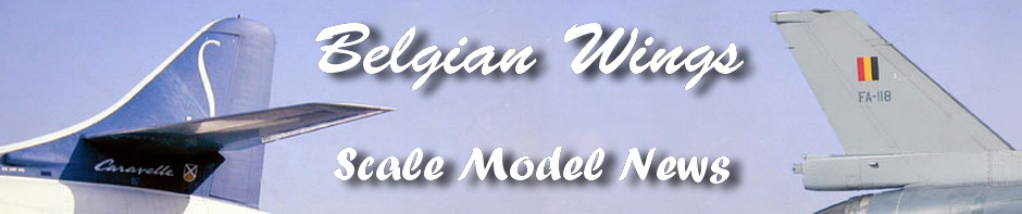 Belgian Wings' Scale Model News