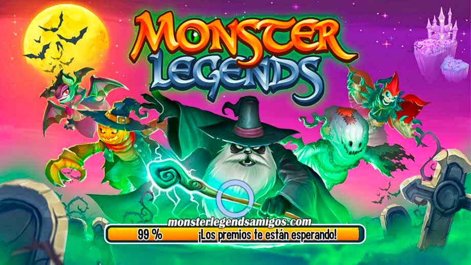 imagen de la actualizacion de monster legends mobile