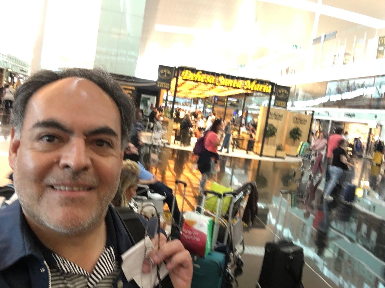 En el Aeropuerto de Barcelona