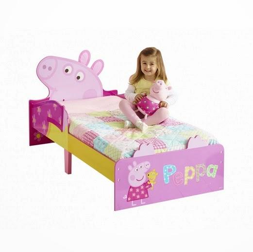 Cama de la colección Peppa Pig