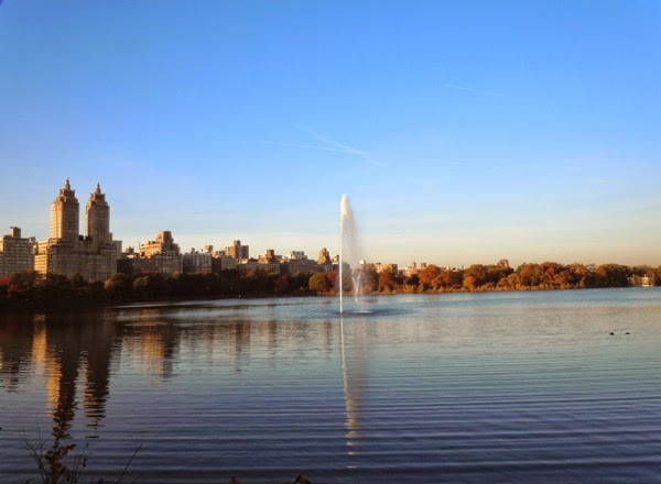 Central Park reservoir New York