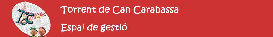 Torrent de Can Carabassa. Espai de Gestió.