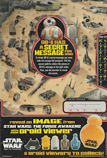 Back of Honey Nut Cheerios Star Wars The Force Awakens 2015 box