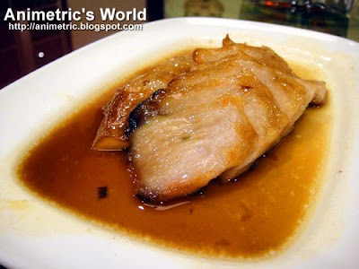 Barbecued Pork with Honey Sauce at Passion Restaurant, Resorts World Manila