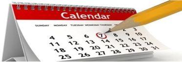 League Calendar 2018 -2019