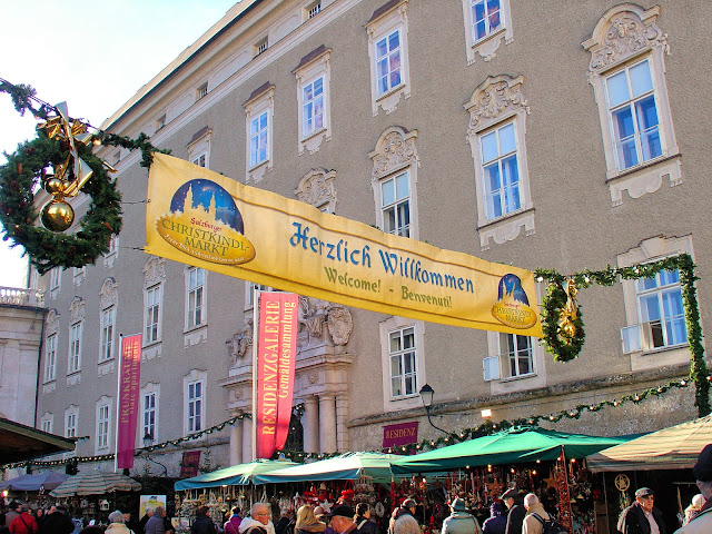 Welcome to Salzburg Christmas Market.