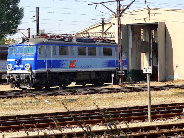 Lokomotywownia PKP IC na Grochowie.