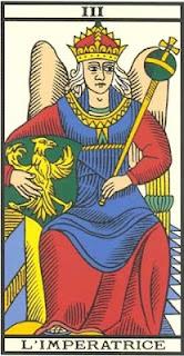 Arcano 3: A Imperatriz, carta do tarô, tarot, baralho de marselha