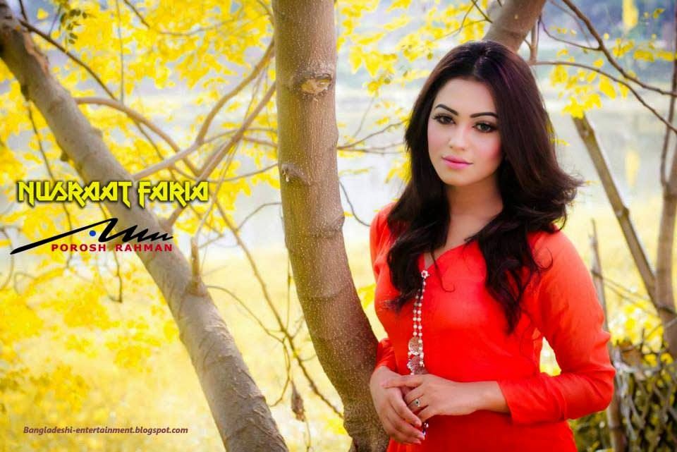 Bangladeshi Model Nusrat Faria Mazhar pic 3