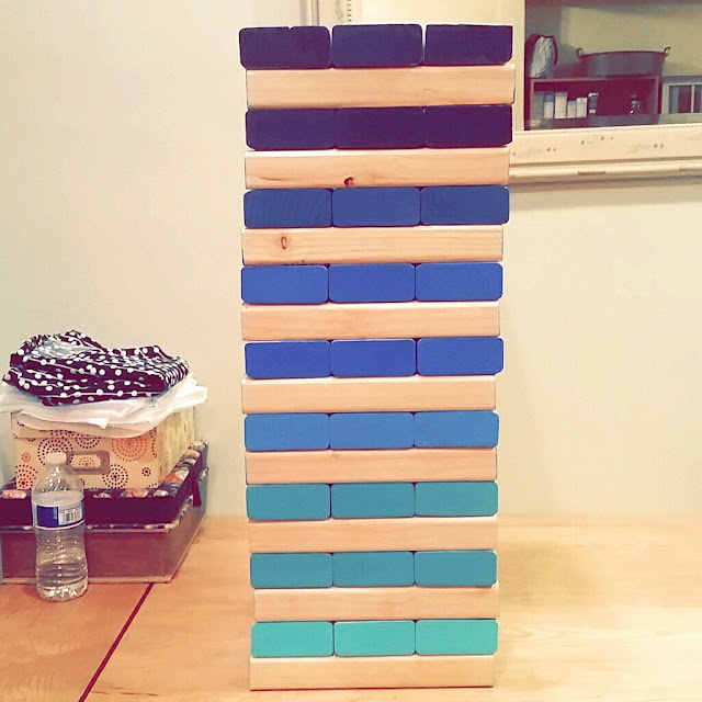 giant jenga diy