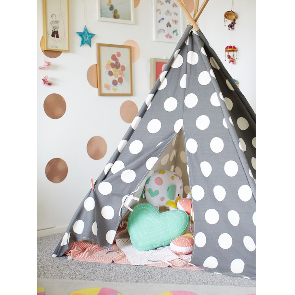 Homestar room of child the tipi the new hut trendy for Tipi chambre enfant