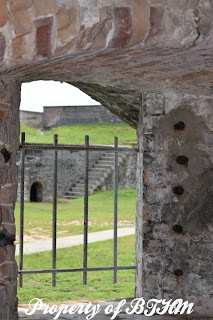fort pickens window interior