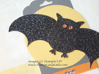 Bat Punch Art made with Stampin'UP!'s Owl Builder Punch