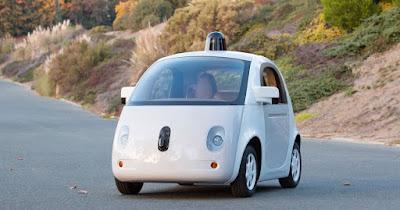 Google Driverless POD car