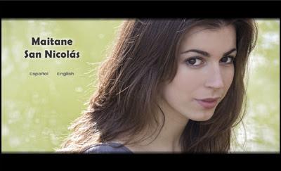 ver web de la actriz Maitane San Nicolás