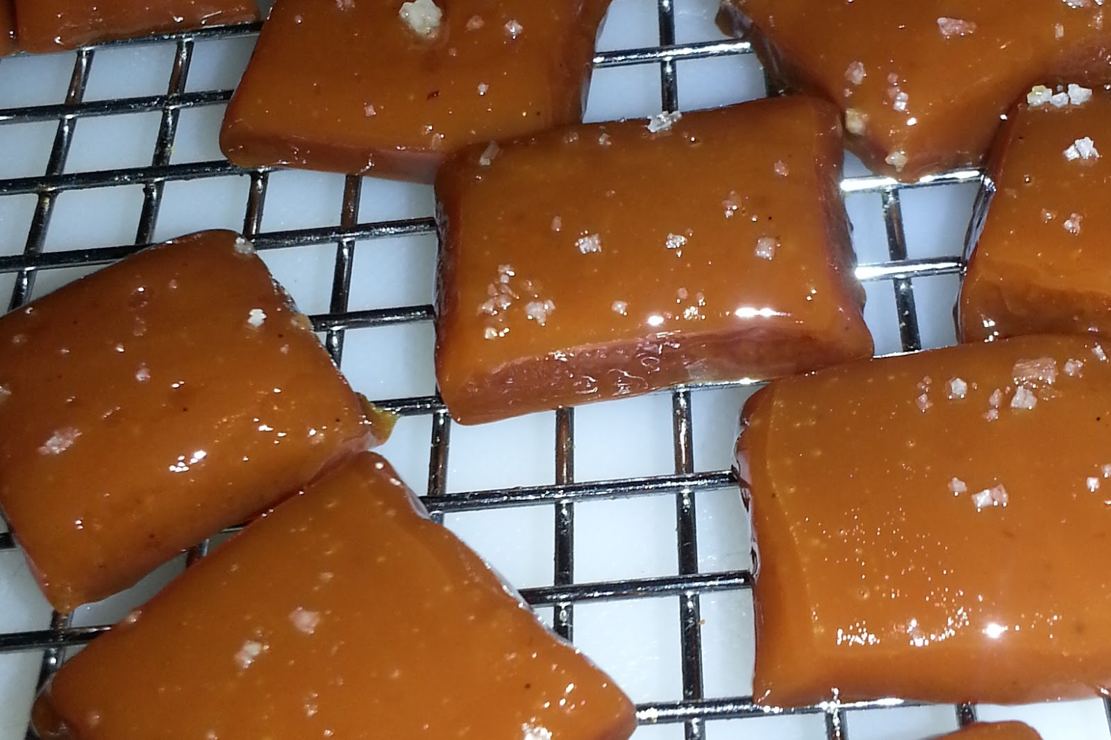 FOOD BABBLER: Salted Butter Caramels