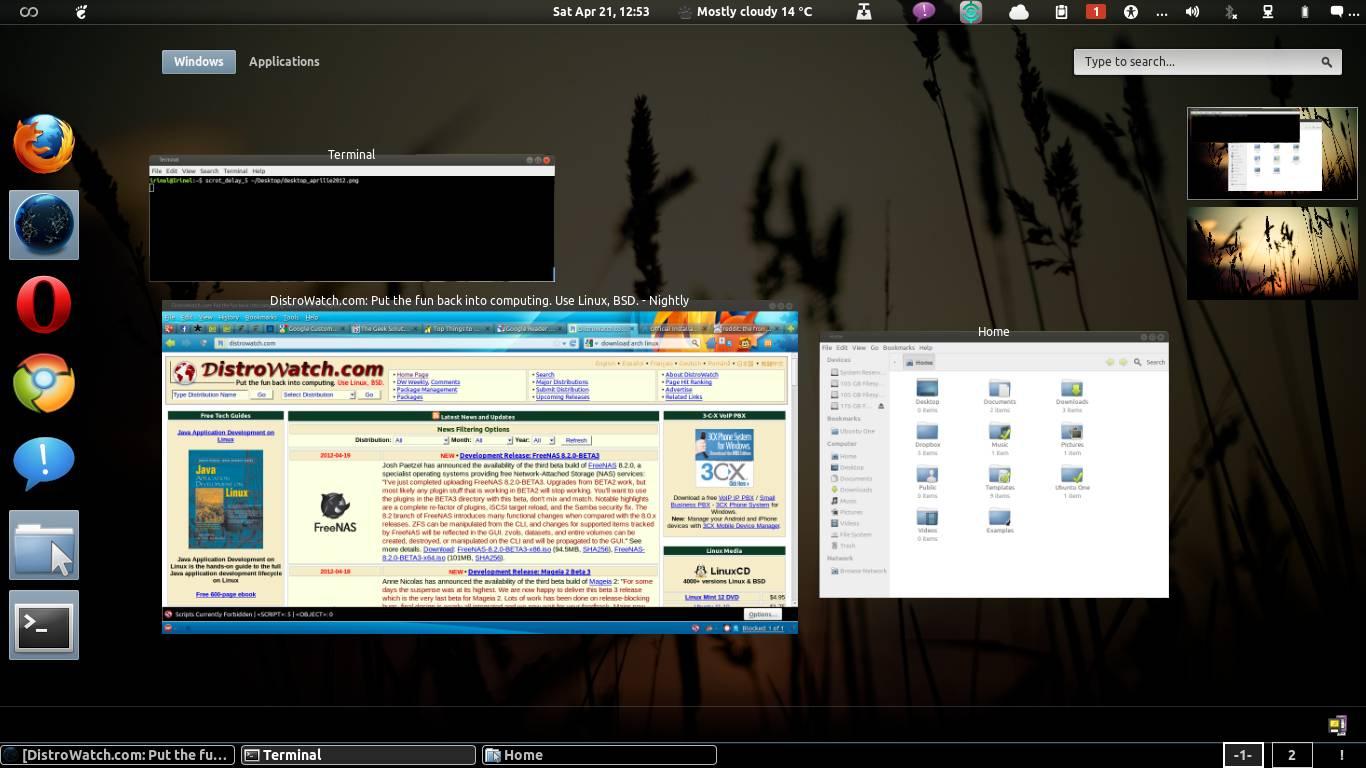 Gnome Shell Ubuntu 12.04
