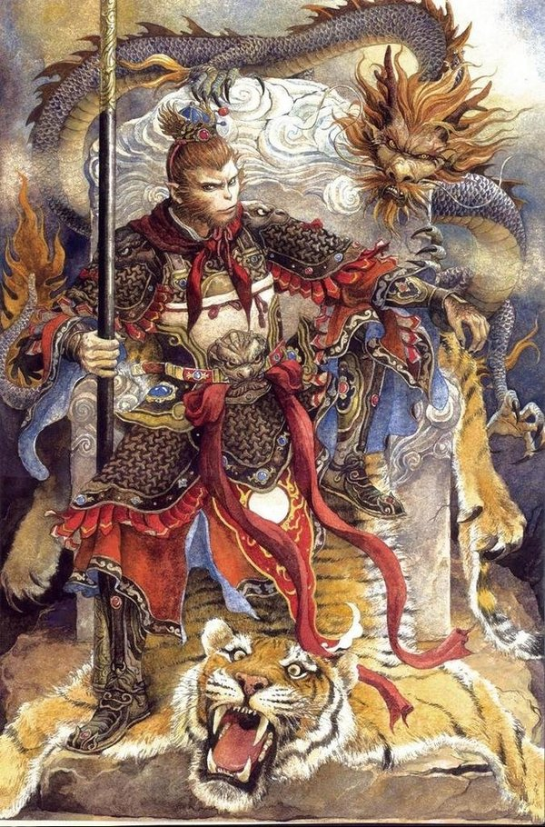monkey king chinese legend