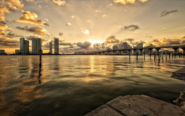 Miami Sunset View