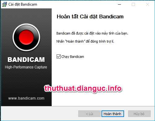 Download Bandicam 4.1.0.1362 full crack - Phần mềm quay video game