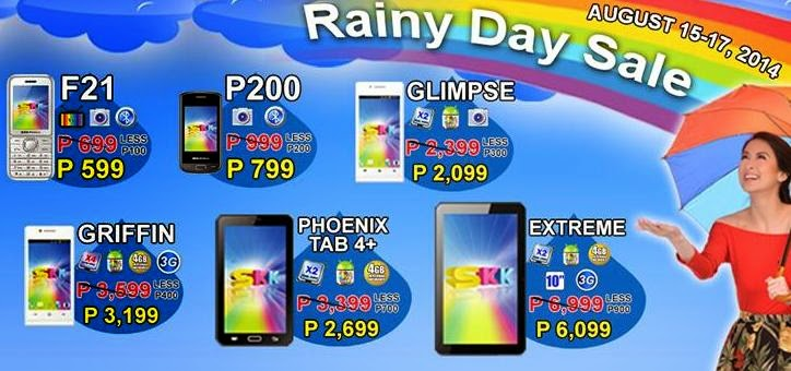 SKK Mobile Rainy Day Sale, Save Up To Php900