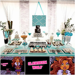 Fiestas Infantiles Monster High, Clawdeen Wolf