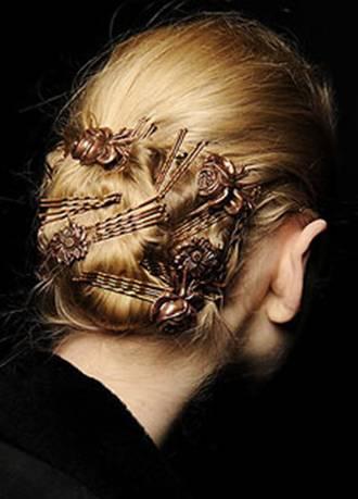 Модные тренды причёсок 2012 года.