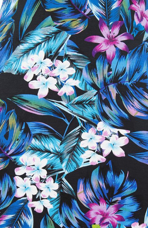 Fresh Tropics Sundress – Violet Flowers
