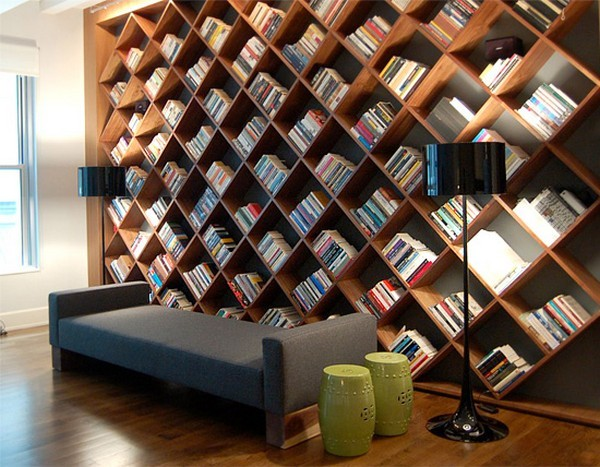 sound finds a physical identity in the beautifully crafted storyline bookshelf - Storyline Bookshelf