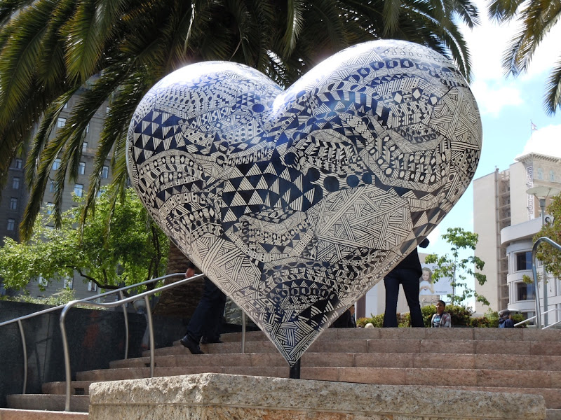 Untitled Heart Hilary Pecis Union Square