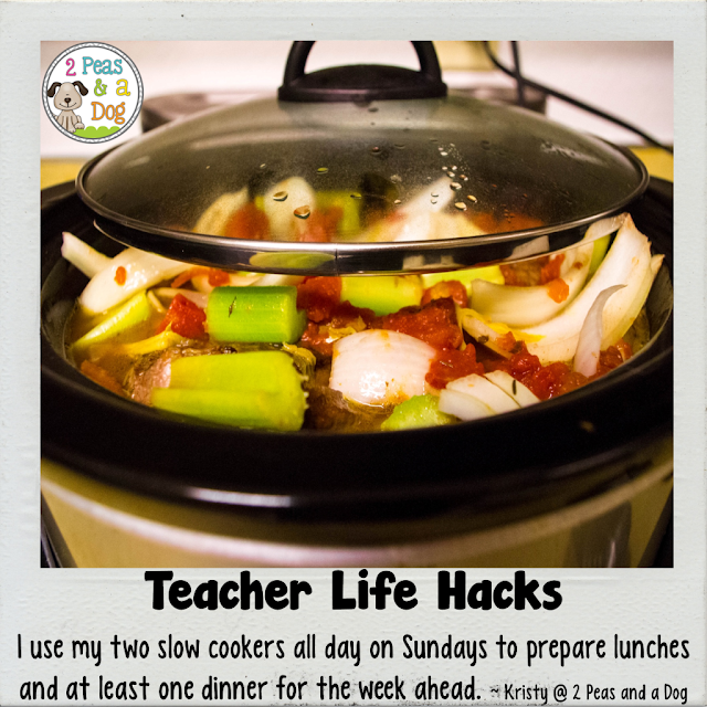 teacher life hacks - slow cookers