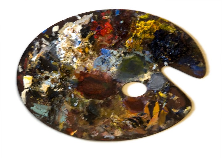 how to clean acrylic paint palette