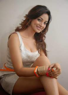 Shilpi Sharma Hot Photo Gallery in White Short Dress at Aakramana Audio Release